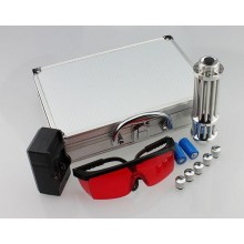 Мощная лазерная указка Blue Laser Pro в кейсе с насадками 50000mw