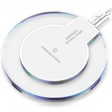 Беспроводное зарядное устройство Remax Wireless Charger Fantasy Plus для iPhone и Android Белая