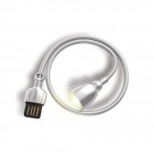 Беспроводная светодиодная LED лампа Remax Hose Lamp (RT-E602) от USB источника Белая
