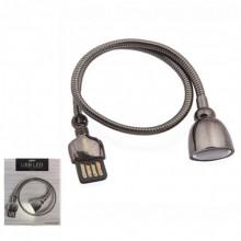 Беспроводная светодиодная LED лампа Remax Hose Lamp (RT-E602) от USB источника Черная