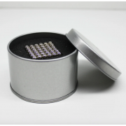 Магнитный конструктор Neocube 216 шариков по 5 мм Металлик