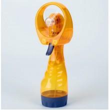 Портативный вентилятор увлажнитель Water Spray Fan NEW с пульверизатором Оранжевый