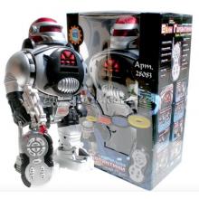 Интерактивный Робот  Космический Воин на радиоуправлении стреляет дисками