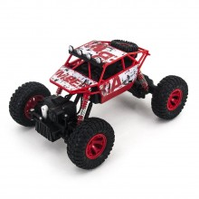 Джип на радиоуправлении Rock Rover Pro 4х4 полноприводный с амортизаторами Красный