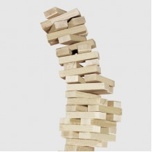 Настольная игра Arial Эко Джанга деревянная 54 бруска