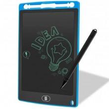 Детский графический планшет для рисования Kid's Idea с LCD дисплеем 8.5 дюймов на батарейке Синий