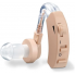 Слуховой аппарат Cyber Sonic Beige усилитель слуха на батарейке с системой шумопонижения Бежевый