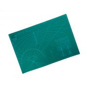 Самовосстанавливающийся макетный коврик Phoenix непрорезаемая подкладка для резки А3 45 х 30 см Зеленый