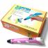 3д ручка MyRiwell Air 3d Pen для начинающих, детей и взрослых с дисплеем 18 см Розовая