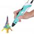 3д ручка MyRiwell Air 3d Pen для начинающих, детей и взрослых с дисплеем 18 см Голубая