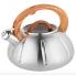 Чайник со свистком Unique для плиты из нержавеющей стали с термозащитной ручкой 3 л Оранжевый