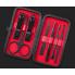 Маникюрный набор Manicure Suit PRO с профессиональным инструментом 7 в 1 в пенале Черный