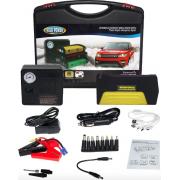 Автомобильное зарядное устройство Auto Starter 7.0 пуско зарядное для авто с фонариком, компрессором и возможностью зарядки ноутбука, телефона 50800 мАч Черный