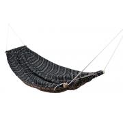Гамак подвесной Зеленый Мексиканец 208 х 120 см с чехлом и веревками для крепления