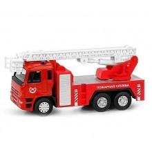 Модель машины Пожарной Службы Play Smart КамАЗ металлическая инерционная
