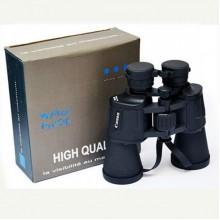 Водонепроницаемый прорезиненный бинокль Canon Pro 20x50 с чехлом Черный